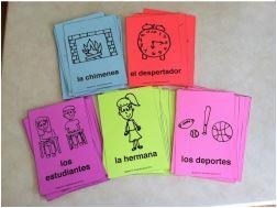 Spanish Conversation Activity Using Flashcards