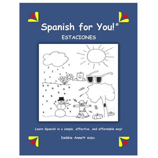 Spanish for You! Estaciones Theme Package