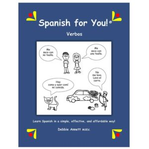 Spanish for You! Verbos Theme Package