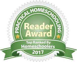 Practical Homeschooling 2017 Reader Award badge