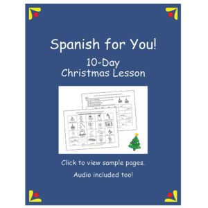 Spanish for You! Christmas Lesson