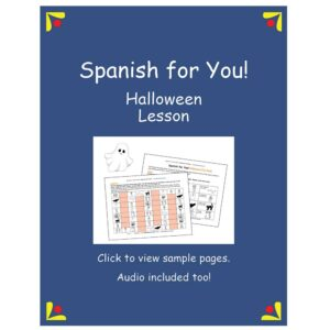 Spanish for You! Halloween Lesson