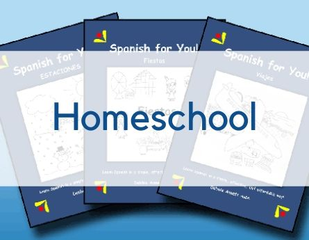 Spanish for You! Shop Homeschool graphic