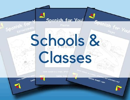 Spanish for You! Schools & Classes graphic