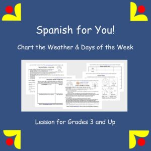 Chart the Weather & Days of the Week lesson