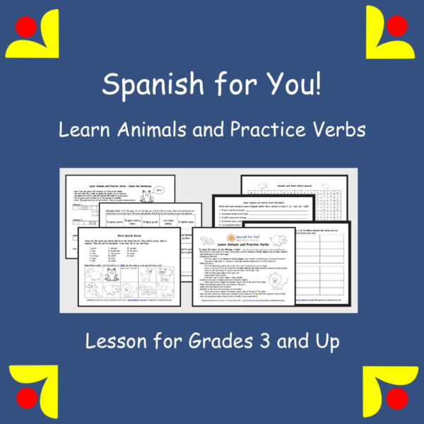 Learn Animals and Practice Verbs