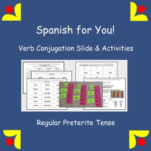 Spanish Conjugation Slide